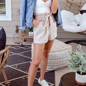 tan shorts!!!